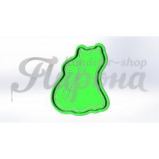 """Форма для пряников и печенья с трафаретом """"Кот 6"""""""