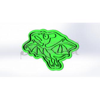 """Форма для пряников и печенья с оттиском """"Динозавр 8"""""""