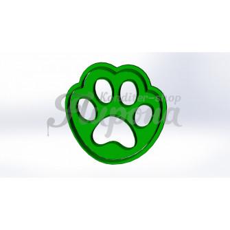 Форма для пряника и печенья с оттиском щенячий патруль След лапы