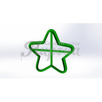 """Форма для пряника и печенья """"Звезда 2"""""""