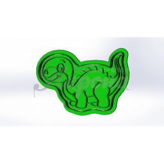 """Форма для пряников и печенья с оттиском """"Динозавр 6"""""""
