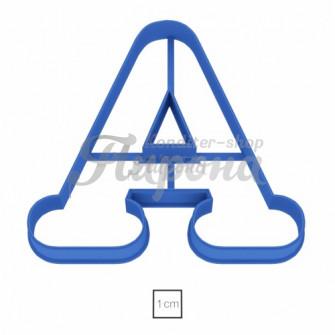 Форма для пряников и печенья Буква А, 11 см