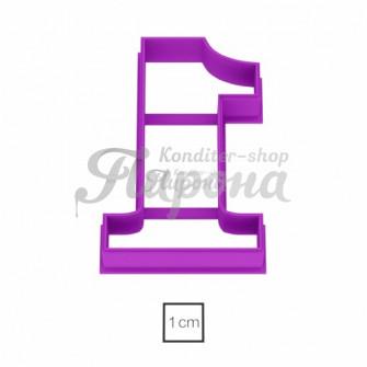 Форма для пряников и печенья Цифра 1, 8.5 см