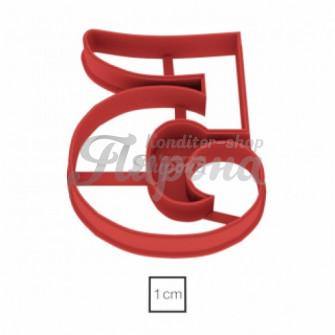 Форма для пряников и печенья Цифры 8,5 см