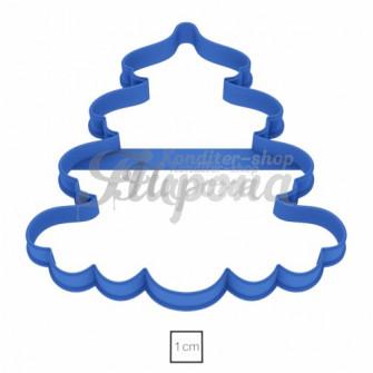 Форма для пряников и печенья Елочка №3 11 см