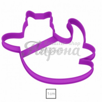 Форма для пряников и печенья Кот-Летун, 11 см