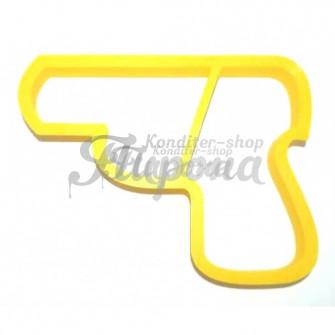 Форма для пряников и печенья Пистолет 9 см