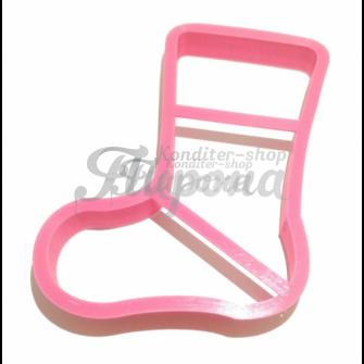 Форма для пряников и печенья Сапожок №2 10 см