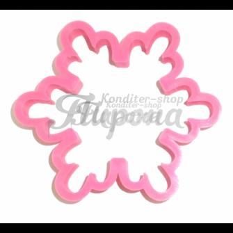Форма для пряников и печенья Снежинка №2 10 см