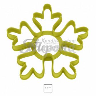 Форма для пряников и печенья Снежинка №8 12 см