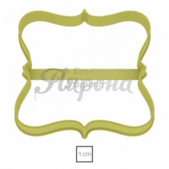 Форма для пряников и печенья Табличка №23, 9,7 см