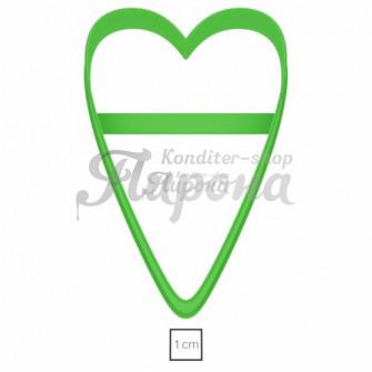 Форма для пряников и печенья Тильда-сердце, 11,8 см