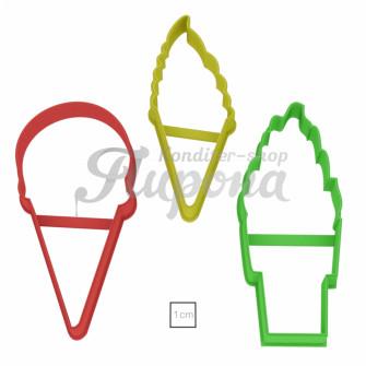 """Формы """"Мороженое"""" набор 3 шт"""