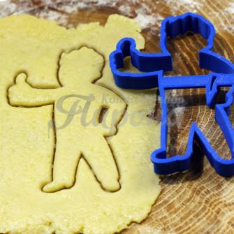 """Форма для пряников и печенья """"Fallout Vault boy"""""""
