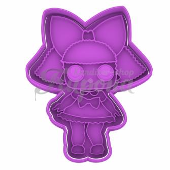 Плунжер с формой кукла LoL Glitter Queen