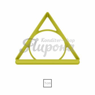 """Форма """"Треугольник равнобедренный"""""""