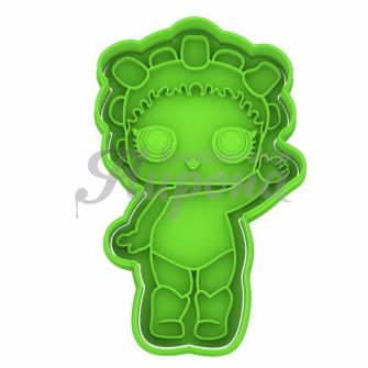 Плунжер с формой кукла LoL Cosmic Queen