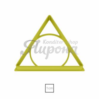 "Форма ""Треугольник равносторонний 9 см"""