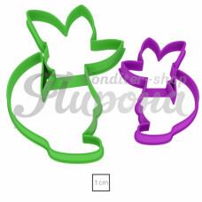 """Набор форм """"Лис и лисенок"""" 2 шт"""