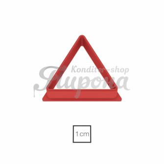 "Форма ""Треугольник равносторонний 5 см"""