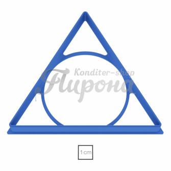 "Форма ""Треугольник равносторонний 12 см"""