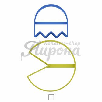 """Набор форм """"Pac-Man"""" 2шт"""